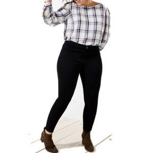 RACHEL ROY NWT Women Curvy  Black Pants 18W / 20W